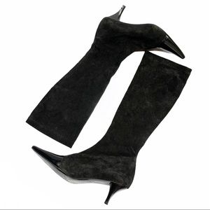 Robert Clergerie patent leather toe cap boots 9.5